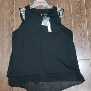 Dressy blouse with gems
